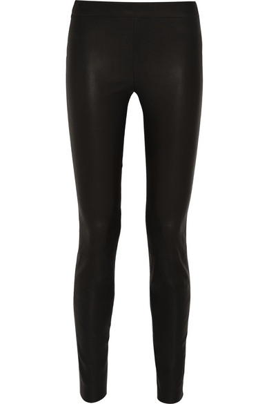 J.Crew | Collection stretch-leather skinny pants | NET-A-PORTER.COM