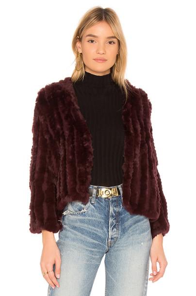 Heartloom jacket fur jacket fur