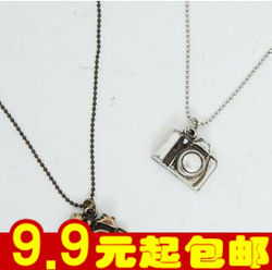 Online Shop E4134 accessories vintage small camera long necklace|Aliexpress Mobile