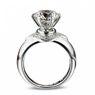 jewels ring engagement ring solitaire ring diamond ring