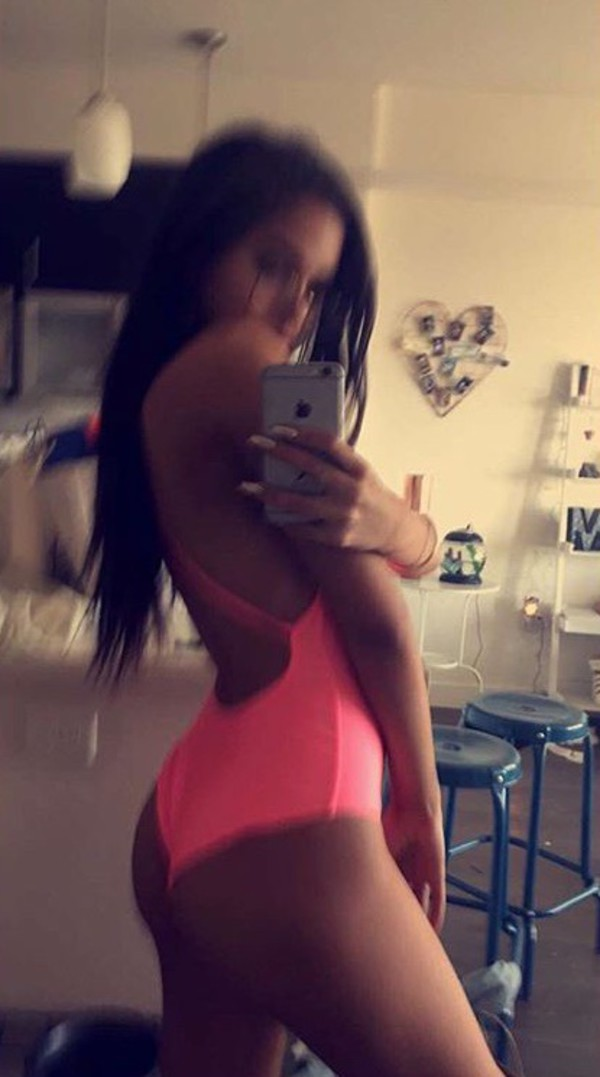 Swimwear Maggie Lindemann Pink One Piece Swimsuit