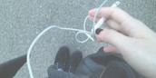 shoes,grunge,ear buds,cigarette