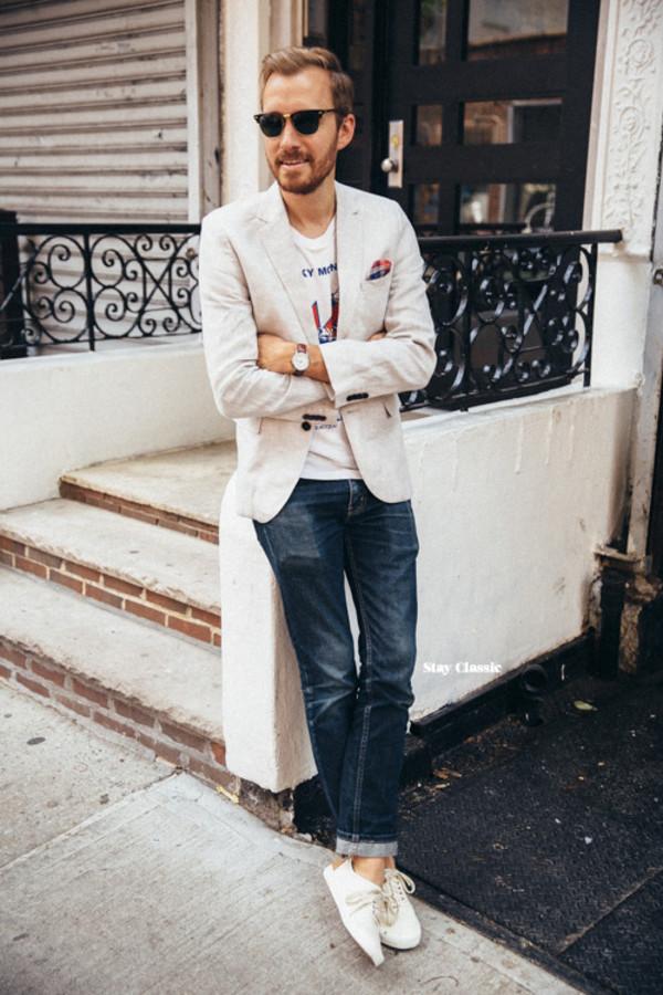 H&M Linen Blazer $45
