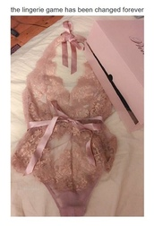 underwear,lingerie,one piece,lace,pink,lilac,silk,ribbon,pretty,sexy