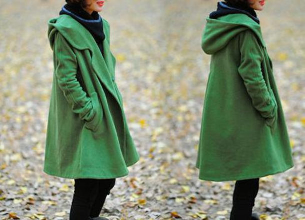 coat long sleeves jacket wool coat overcoat