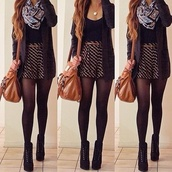 shorts,black,scarf,swimwear,shoes,bag,tank top,sweater,belt,skirt,shirt,cardigan,stockings,underwear,jewels,coat,clothes,printed shorts,black and white shorts,heels,laced heels,jacket,stripes,skater skirt,navy blue#,striped skirt,dress,leggings,where to get this brown shoulder bag,where to get the whe outfit,this striped skirt please,where to get the cardigan,infinity scarf,shoulder bag,tights,grey,cute,cute high heels,belted skirt,summer outfits,fall outfits,spring outfits,followme q,zigzag print,gold,colorful,selfie,miniskirt,tube skirt,bodyfit,loveyou,nice,amazing,boots,top,crop tops,high heels,fashion,black crop top,tumblr,black and gold,pretty,purse,waist belt,mini shorts