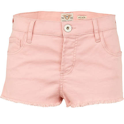 pink super short denim hotpants - denim shorts - jeans - women ...