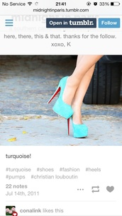 shoes,heels blue high turquoise