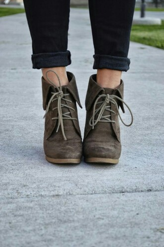 shoes brown shoes brown lace up ankle boots ankle boots lace up boots