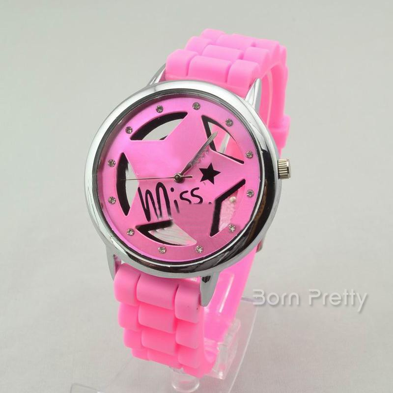 $6.99 Women's Watch Roman Numerals Dial Quartz Analog Wrist Watch - 4 colors - BornPrettyStore.com
