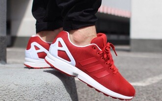 276532db9 Adidas Zx Flux Red And White wallbank-lfc.co.uk
