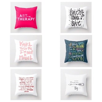 bag pillow quote on it quote on it pillow
