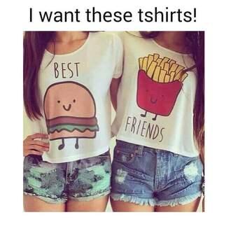 t-shirt top bestfriend shirt shirt