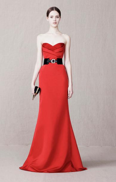 dress fashion lookbook alexander mcqueen bag