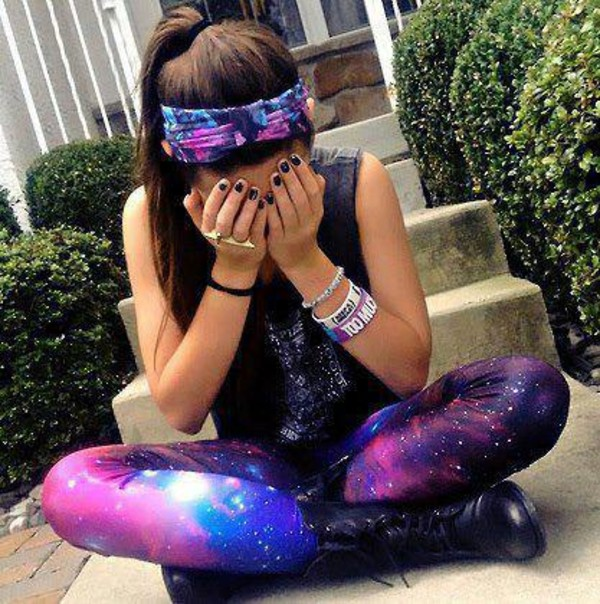 Aliexpress.com : Buy Top La tights clothes Cosmic Black ...