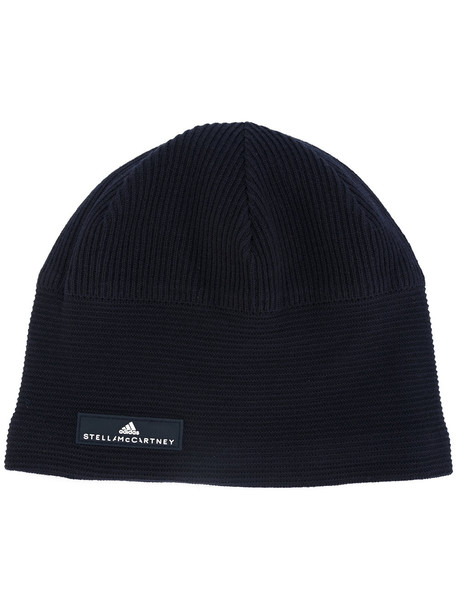 run hat beanie blue