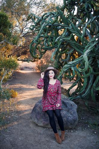 noelles favorite things blogger floral dress