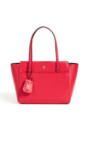 cherry navy red bag