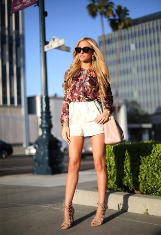 angel food t-shirt shorts shoes sunglasses bag