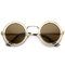 Alin dual round frame steampunk sunglasses at flyjane