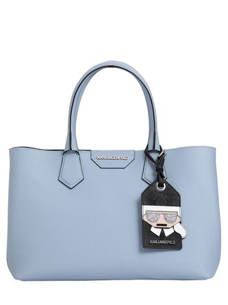 leather light blue light blue bag