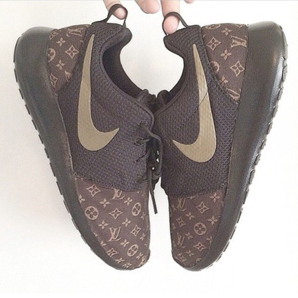 292363922b4e3 shoes louis vuitton nike roshe run nike nike shoes lv nike sneakers nike by  louisvuitton nike