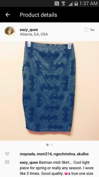 skirt gray charcoal batman skirt batman batman pattern pattern pencil skirt