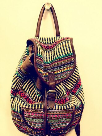 bag hipster brown cute green red backpack pink red dress woven backpack backpack/rucksack rucksack
