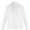 High-neck ruffled stretch-cotton top | msgm | matchesfashion.com us