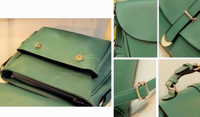 Wholesale Laconic Fashion Women's Cross-Body Bag With Solid Color Belts Buckles Design (APRICOT), Shoulder Bags - Rosewholesale.com