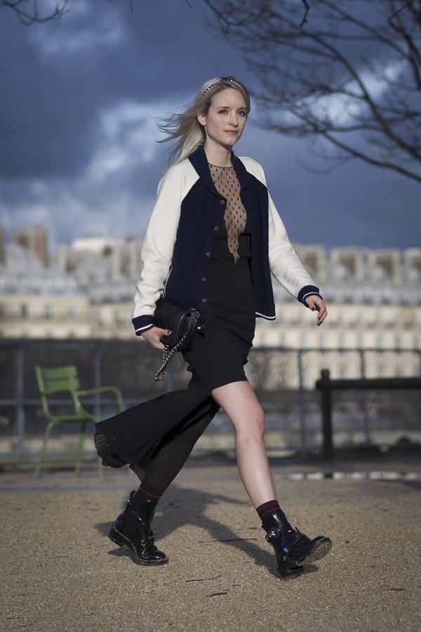 the fashion guitar jacket dress skirt shoes bag