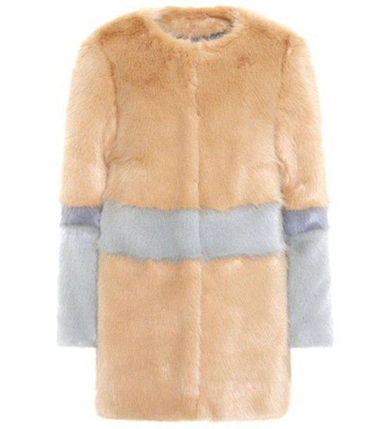 jacket faux fur jacket fur jacket fur faux fur beige
