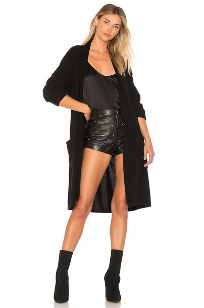Equipment cardigan cardigan black sweater