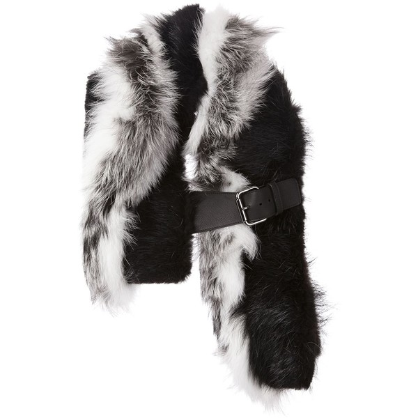 Fendi buckled scarf