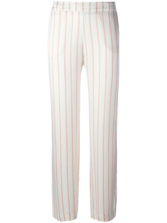 women nude silk pants