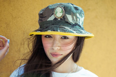 Camo / Cameo Bucket Hat - Silver Spoon Attire