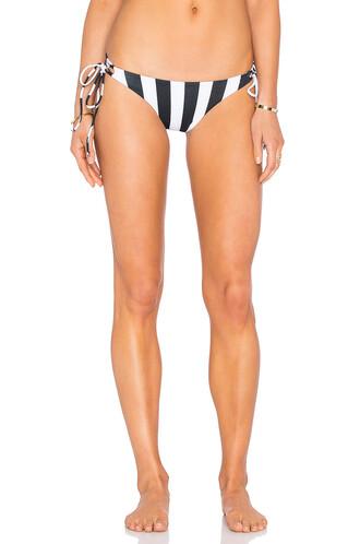 bikini white black