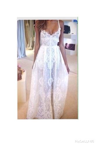 dress clothes prom dress white dress lace dress boho dress