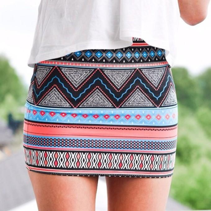 Zara Aztec Skirt Buy 3