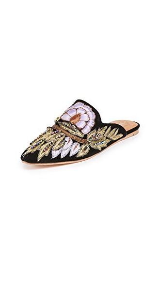 black lilac shoes
