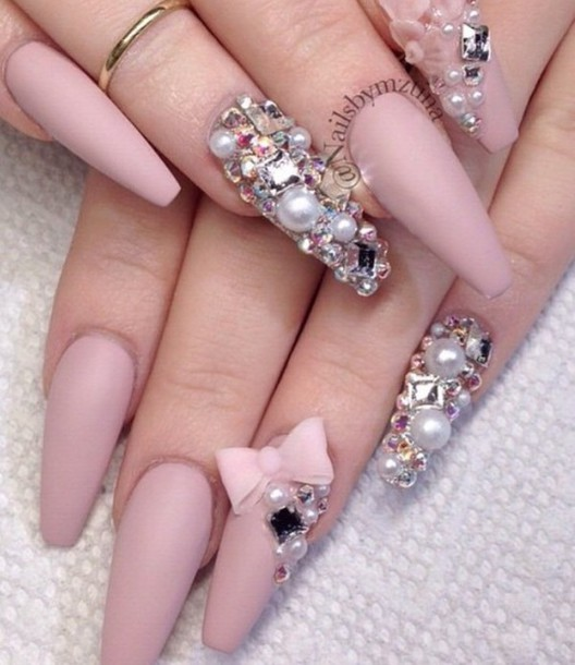 nail polish, nails, pink, matte, nail polish, colorful - Wheretoget