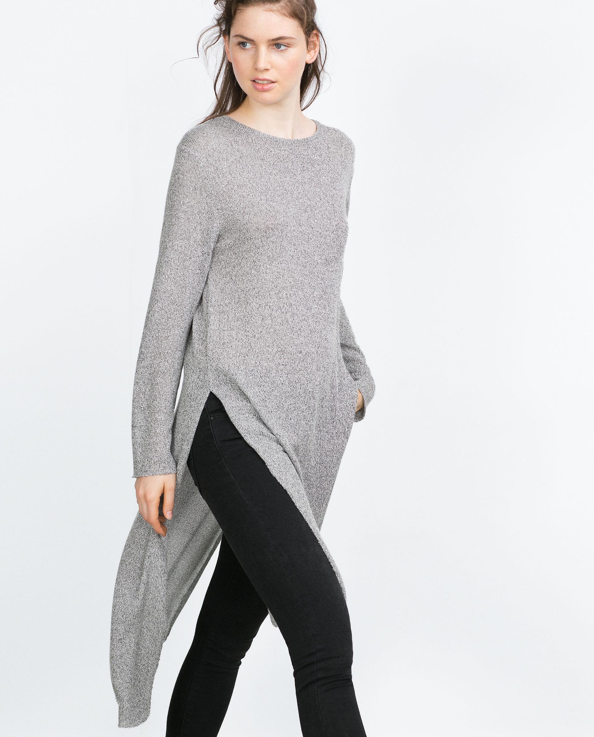 cardigan zara woman sweater vest