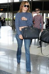 jeans,jennifer lopez,crop,cropped sweater,sweater