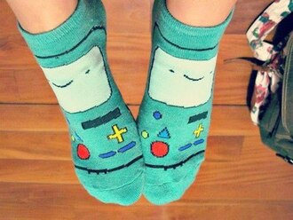underwear adventure time socks