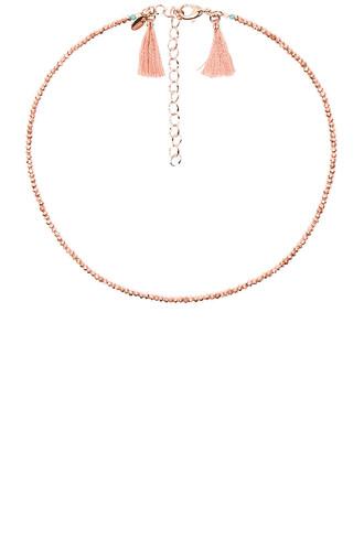 metallic copper jewels
