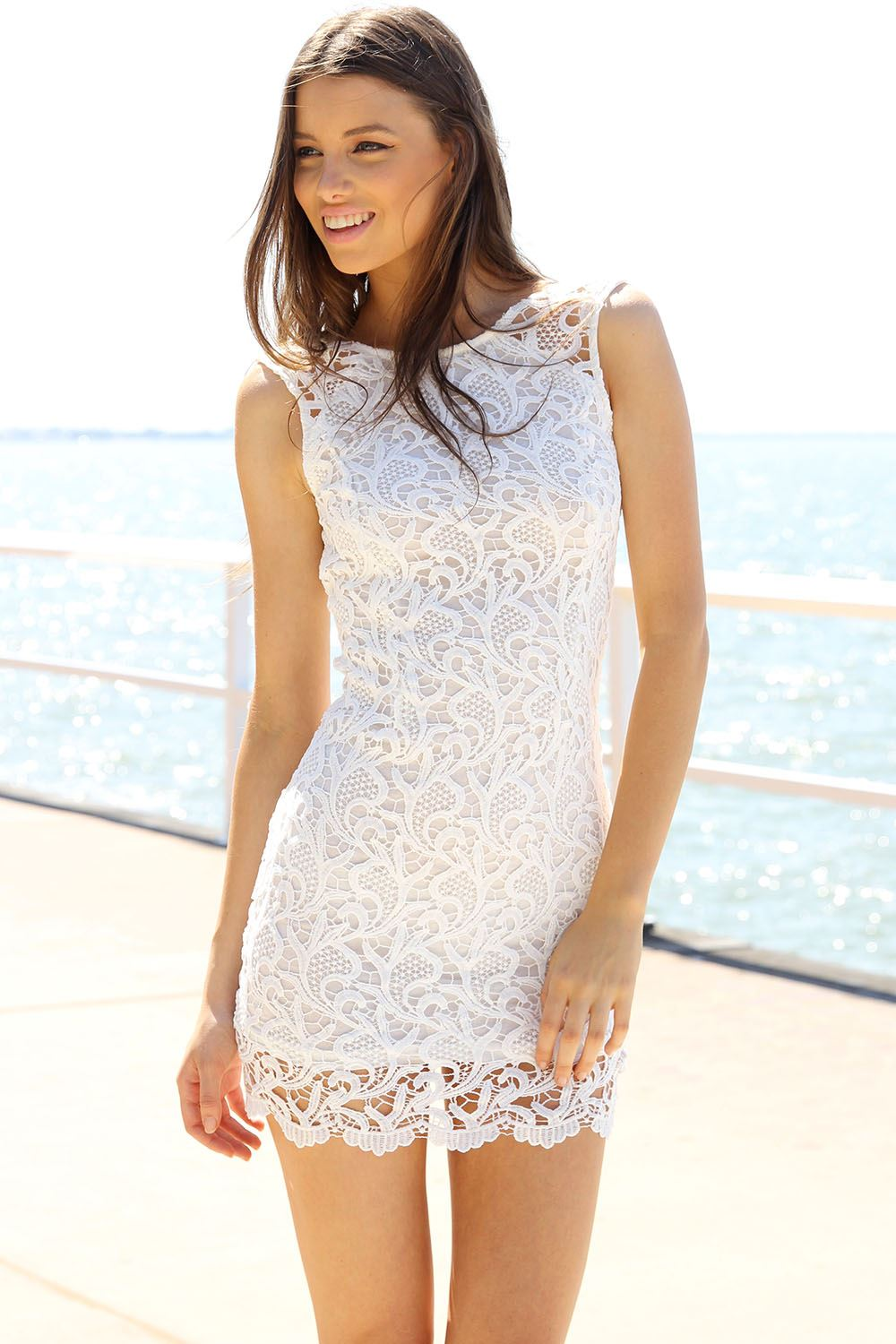 Gypsy Dress - Ivory | SABO SKIRT