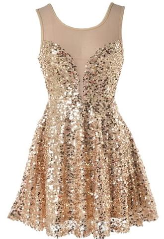 dress sequin dress