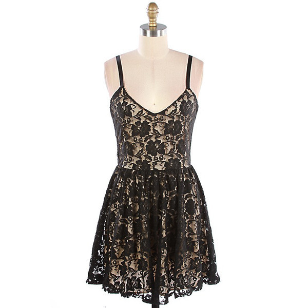 dress donna lace flowers floral print chic sexy makeup table vanity row dress to kill