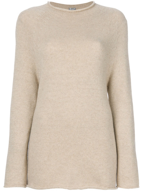 Kristensen Du Nord jumper women nude wool sweater