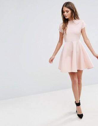 dress baby pink dress